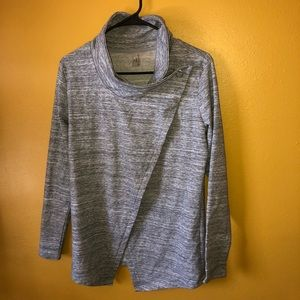 Danskin Gray Wrap Jacket, NWOT, XS